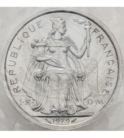 Nowa Kaledonia 2 franki 1979 - Piedfort