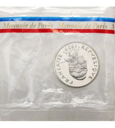 Nowa Kaledonia 10 franków 1979 - Piedfort