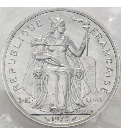 Nowa Kaledonia 5 franków 1979 - Piedfort