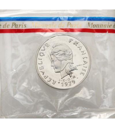 Nowa Kaledonia 20 franków 1979 - Piedfort