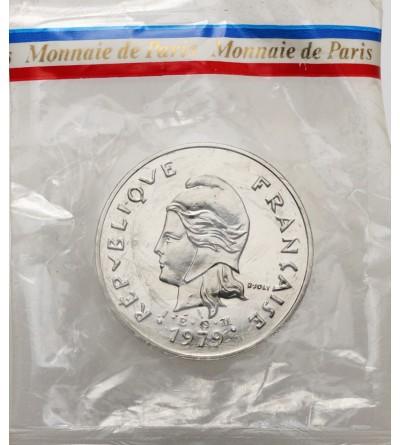 Nowa Kaledonia 50 franków 1979 - Piedfort