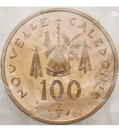 Nowa Kaledonia 100 franków 1979 - Piedfort