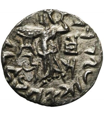 Królestwo Baktrii. AR Drachma ok. 55-36 r. p.n.e.