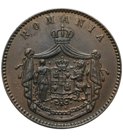 Romania 10 Bani 1867, WATT & CO.
