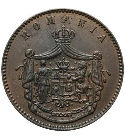 Rumunia 10 Bani 1867, WATT & CO.