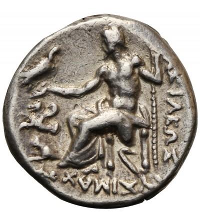 Kingdom of Thrace. AR Drachm, Lysimachos 323-281 BC