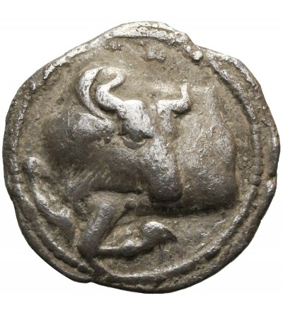 Macedonia. Akanthos 470-390 p.n.e. AR Tetrobol