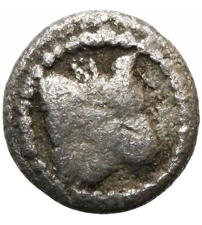 Macedonia. Akanthos ca 470-390 BC. AR Obol