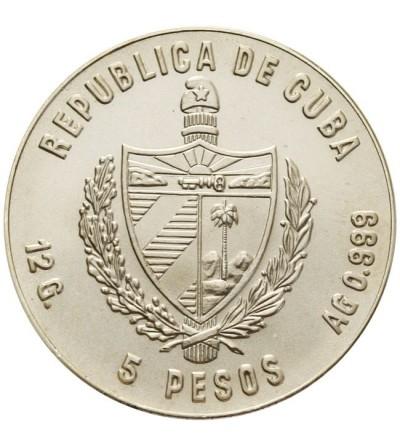 Kuba 5 pesos 1980