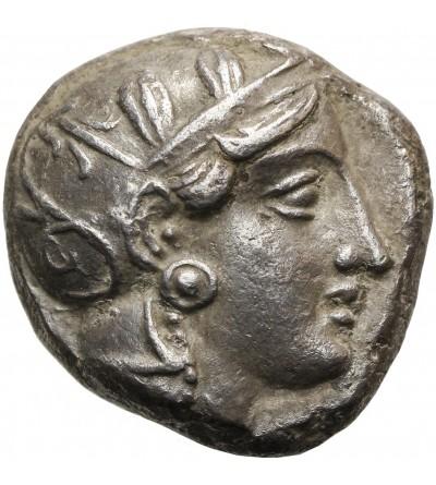 Attica - Athens.   AR Tetradrachm ca 393-300 BC