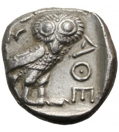 Attyka. Ateny. AR Tetradrachma ok. 393-300 p.n.e.