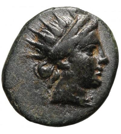 Caria. Rhodos.  AE12 ca 166-88 BC