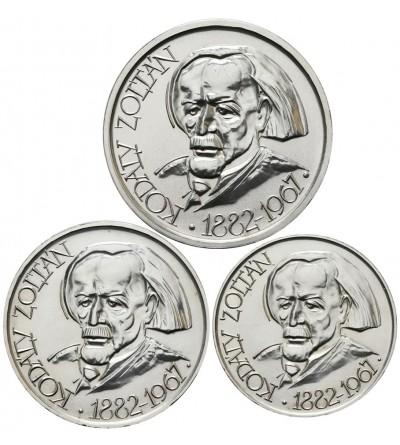 Hungary 25, 50, 100 Forint 1967, Zoltan Kodaly