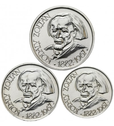 Węgry 25, 50, 100 forint 1967, Zoltan Kodaly