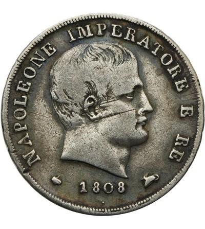Italy. Kingdom of Napoleon 15 Soldi 1808 M, Milan