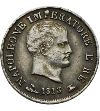 Włochy. Królestwo Napoleona 10 Soldi 1813 B, Bolonia