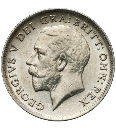 Wielka Brytania 6 pensów 1918