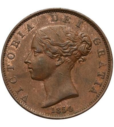 Wielka Brytania 1/2 Penny 1854