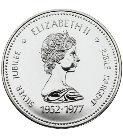 Canada Dollar 1977, Silver Jubilee
