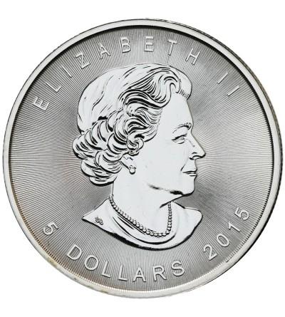 Canada 5 Dollars 2015, Mape Leaf