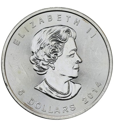Canada 5 Dollars 2014, Mape Leaf