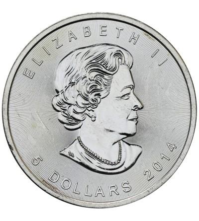 Kanada 5 dolarów 2014, Liść Klonowy