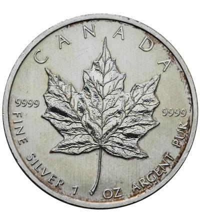 Kanada 5 dolarów 2011, Liść Klonowy