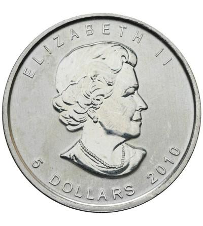 Kanada 5 dolarów 2010, Liść Klonowy