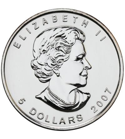 Kanada 5 dolarów 2007, Liść Klonowy