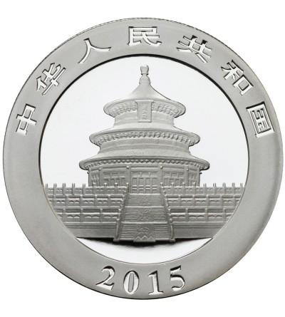 Chiny 10 juanów 2015, Panda