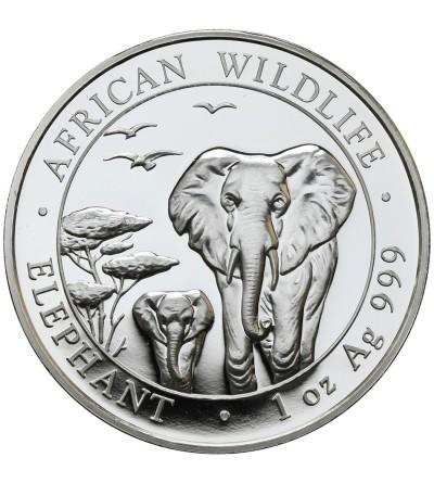 Somalia 100 szylingów 2015, Słonie