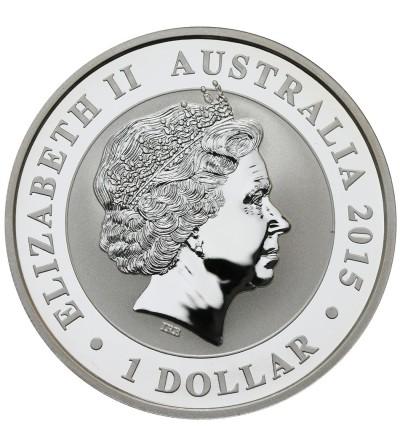 Australia 1 dolar 2015, Kookaburra