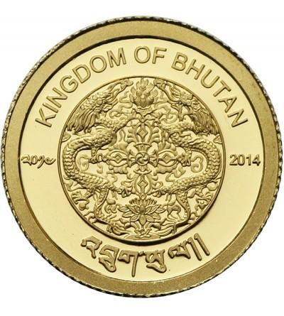 Bhutan 100 ngultrum 2014, Rok Konia