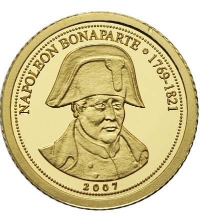 Kongo 1500 franków 2007, Napoleon Bonaparte