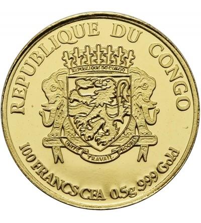 Kongo 1500 franków 2015, Kapitol USA