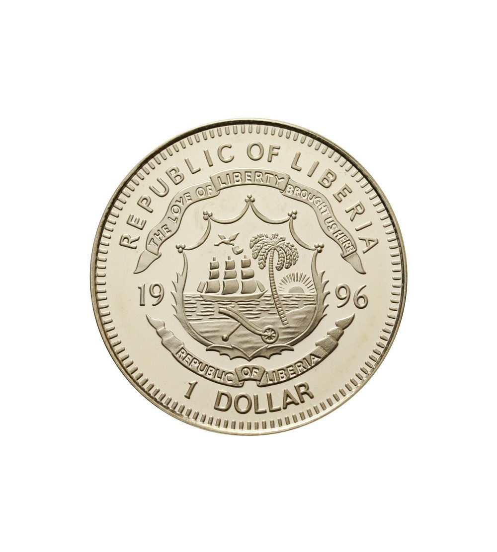 Liberia 1 dolar 1996