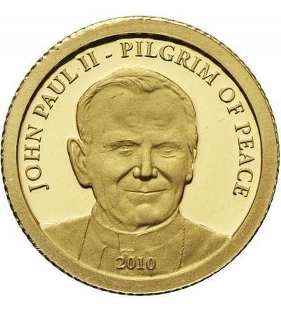 Wyspy Cooka 1 dolar 2010, Jan Paweł II