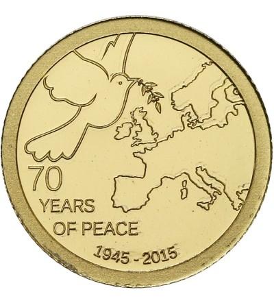 Wyspy Cooka 1 dolar 2015, 70 lat Pokoju