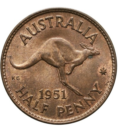 Australia 1/2 penny 1951