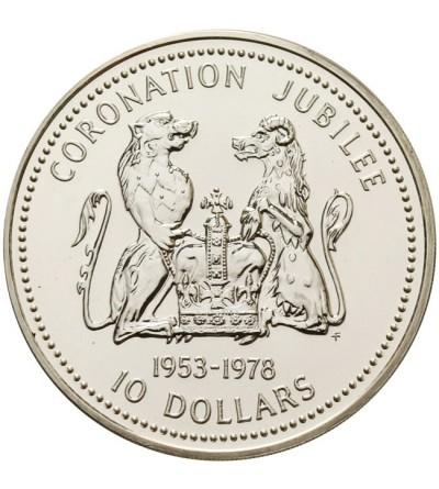 Wyspa Cooka 10 dolarów 1978
