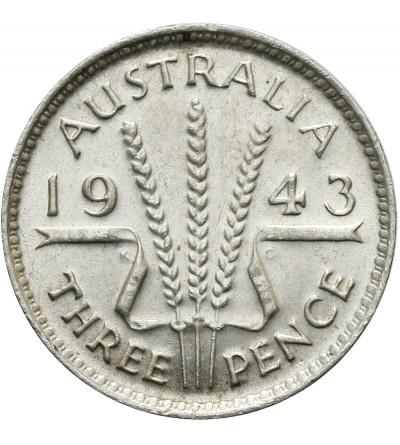 Australia 3 pensy 1943