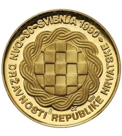 Chorwacja złoty medal 30 maj 1990 - utworzenie republiki chorwackiej