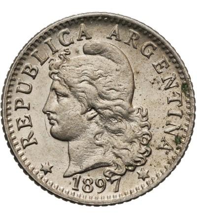 Argentyna 5 centavos 1897