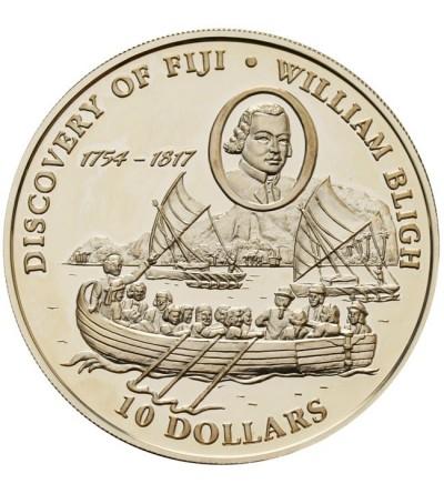 Fidżi 10 dolarów 1993 - Odkrycie Fidżi - William Bligh