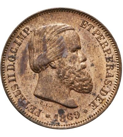 Brazil 10 Reis 1869