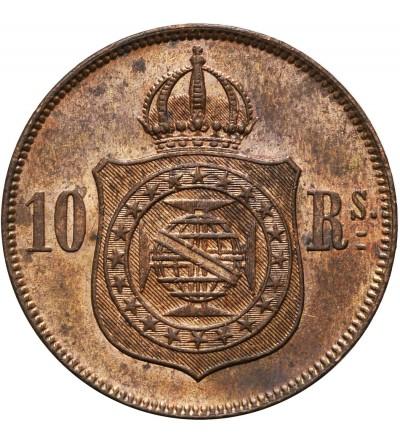 Brazylia 10 Reis 1869