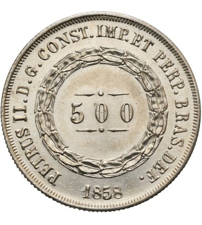 Brazylia 500 Reis 1858