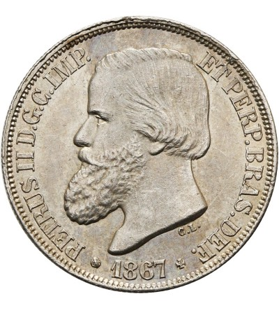 Brazylia 200 Reis 1867