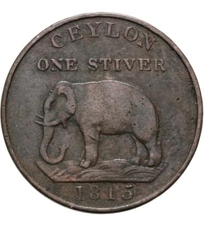 Cejlon 1 Stiver 1815