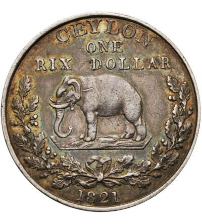 Cejlon 1 Rixdollar 1821